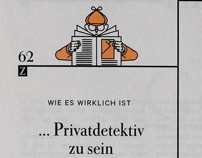 DIE ZEIT wie es wirklich ist Privatdetektiv zu sein