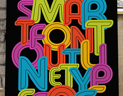 Typeface with alpine charm