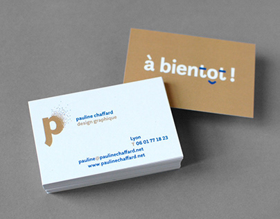 pauline chaffard, design graphique