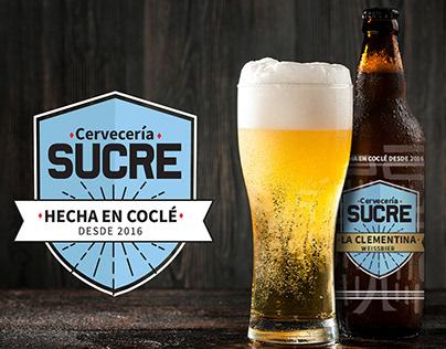 Diseño de emblema y etiquetas para Cervecería Sucre