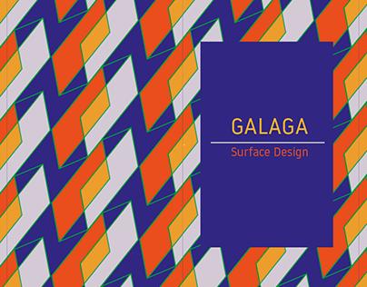 GALAGA - Surface Design