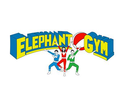 大象戰隊 — 大象體操|團服圖形設計 ELEPHANT GYM T-shirt Design
