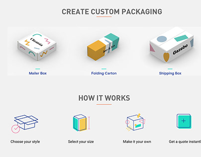 Branding and Packaging Concept - Pleasant Packaging