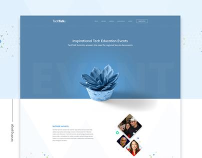 TechTalk - Website Redesign