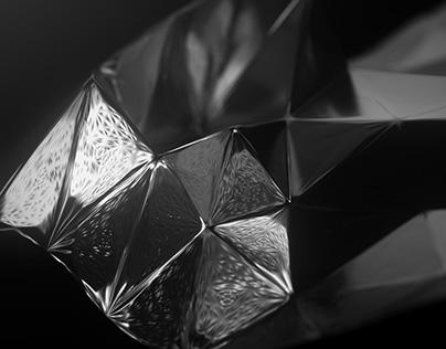Cinema 4D / Polygon morph / test 1
