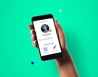 Digital health data app