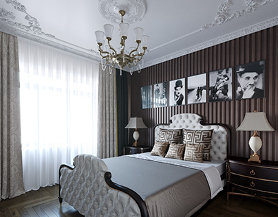 Design Of Classic Traditional Bedroom