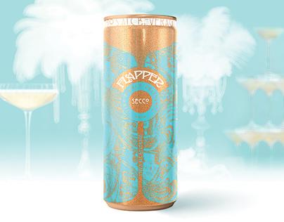 FLAPPER sparkling wine concept