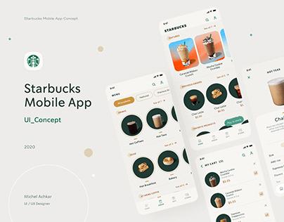 Starbucks Mobile App_ UI Concept