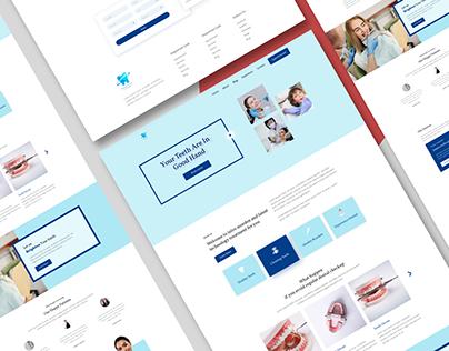 Web design for Dentist