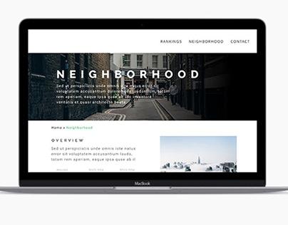 San Francisco Architectural Website Design
