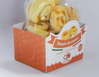 Cuor Cilento cookies packaging