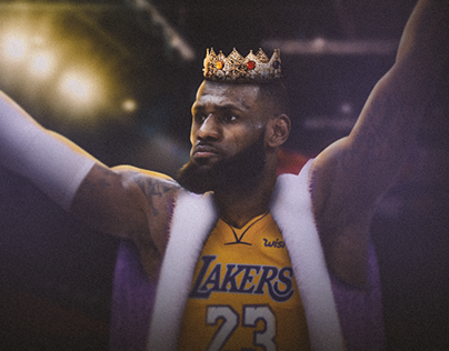 King Lebron Posters