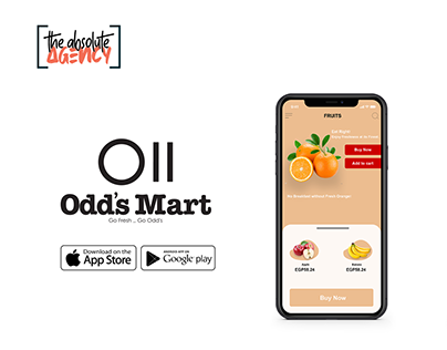 Odd's Mart Mobile UI