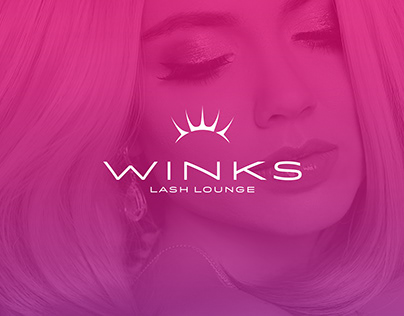 Winks Lash Lounge Brand + Identity