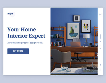 Interior Design Studio Homepage