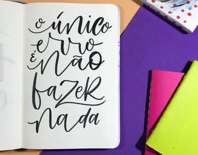 Lettering e Hand Lettering. 02