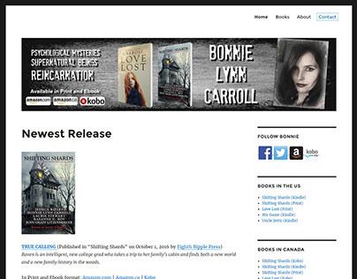 Bonnie Author Website