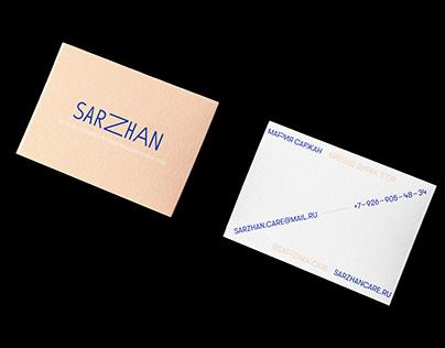Sarzhan Skincare / Visual Identity & Packaging