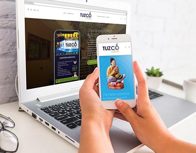 Tuzco Lodge web renovation