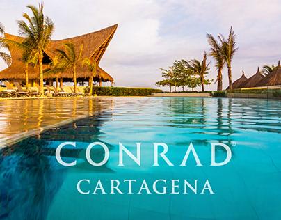 Conrad Cartagena Resort - Site design