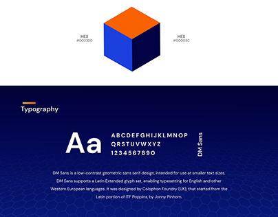 iov42 website | UI/UX design