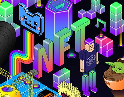 Illustration concept for NFT