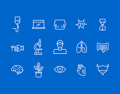 Robust modular icon based visual system
