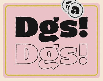 Dingos — typeface