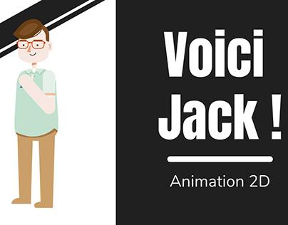 Animation 2D d'un caractère