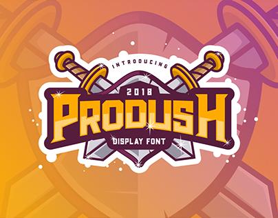 Free Font - Prodush