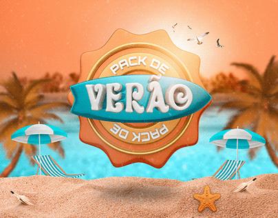 Social Media - Pack de Verão e Carnaval