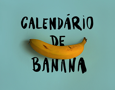 Calendário de Banana
