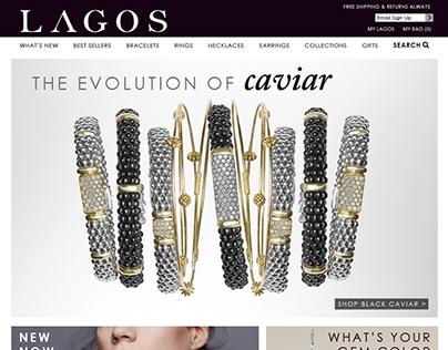 Lagos.com E-comm Website Redesign (Desktop & Mobile)