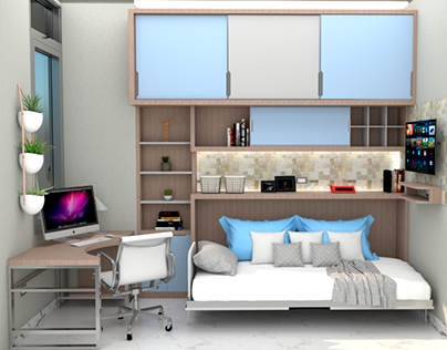 Habitacion Estudio