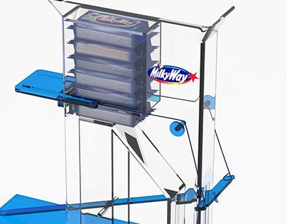 Milkyway dispenser