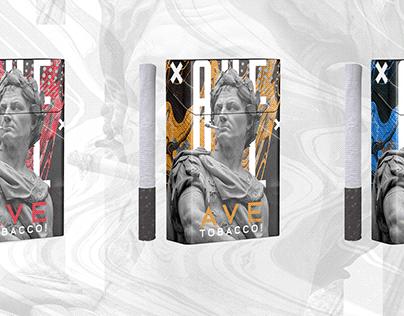 Ave Tobacco! Cigarettes branding and design