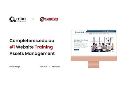 COMPLETERES.EDU.AU   WEBSITE TRAINING