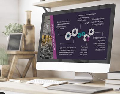 PowerPoint презентация проекта для медицинской компании