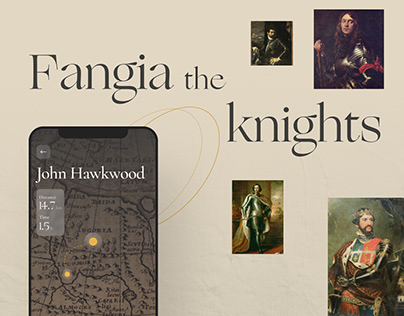 Fangia Knights, mobile application