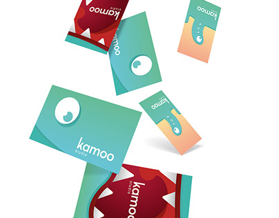 Kamoo studio - Monster Business cards
