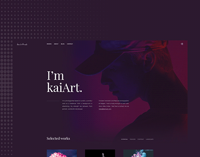 kaiArt - 03 concepts for homepage
