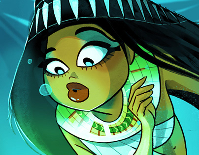Ancient Egyptian Mermaid