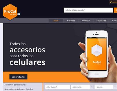 ProCel [Diseño web]