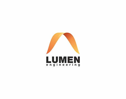 """Lumen engineering"" logo & identity"
