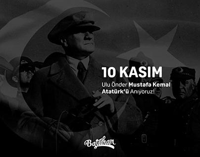 10 Kasım Atatürk'ü Anma Günü | Social Media