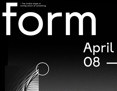 form - A Typographic Test