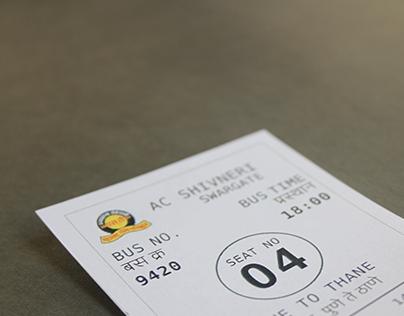 Shivneri ticket Redesign