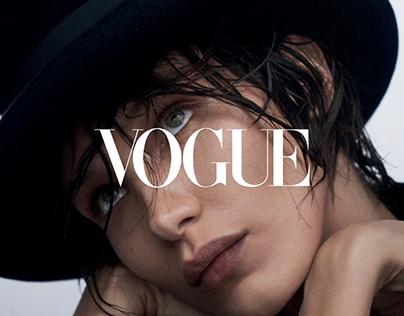 Vogue Russia 2019 (UI/UX)