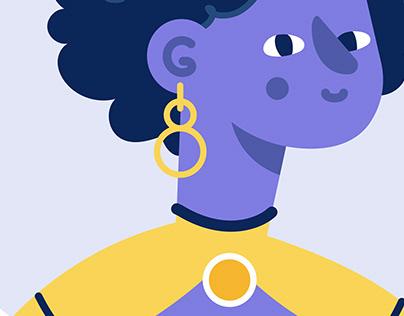 Avatars icon set
